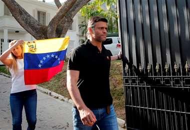Se encontraba resguardado en la residencia del embajador español en Caracas desde 2019