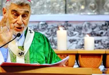 Arzobispo de Santa Cruz, Sergio Gualberti