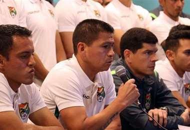 Saucedo anunció el 1 de octubre que priorizaba la selección sobre el pedido de su club.