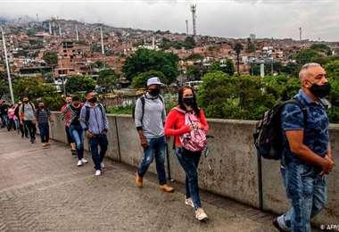 Pandemia deja más de un millón de contagios en Colombia