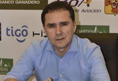 Carlos Blanco, presidente del club Destroyers. Foto: El Deber