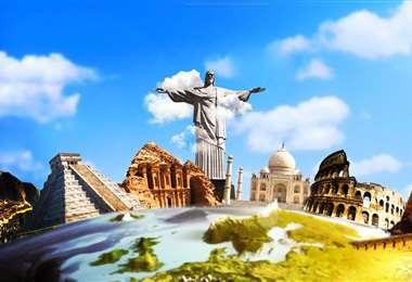 Las nuevas maravillas del mundo están situadas en América, Asia y Europa