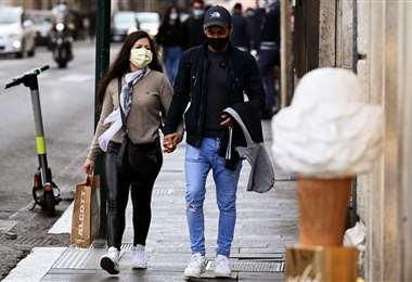 Nuevas restricciones en Italia por el Covid-19/Foto: AFP