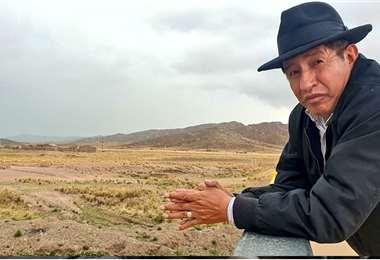 Rafael Quispe es el actual viceministro de Descolonización