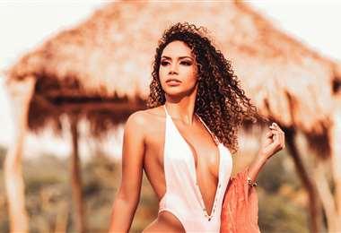 Wendy Saavedra es una experimentada modelo publicitaria. Foto: Pedrinho Rojas