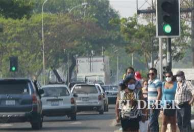 Octubre, un mes crítico para la calidad del aire en la ciudad. Foto: Ricardo Montero