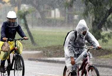 Para Santa Cruz también se anunciaron lluvias ocasionales. Foto: Ricardo Montero