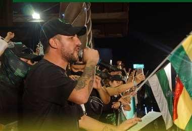 Delgado aclaró que no tiene previsto incursionar en política partidaria. Fotos: UJC