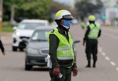 Las autoridades de Tránsito piden precaución a los conductores. Foto: Internet