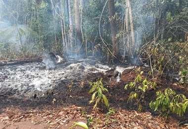 Foto: Comando de Incidentes Guarayos