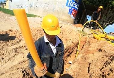 Yacimientos pide cuidado con la red de gas domiciliario (Foto: Internet)