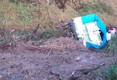La situación en la carretera al norte de La Paz I Wara Noticias.