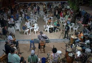 La música vuelve a Río. Foto AFP