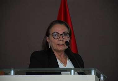 La ministra de Salud I APG Noticias.