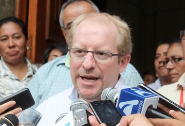 Adrián Oliva, gobernador de Tarija. Foto. Internet