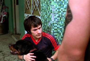 Gael García en una escena del filme
