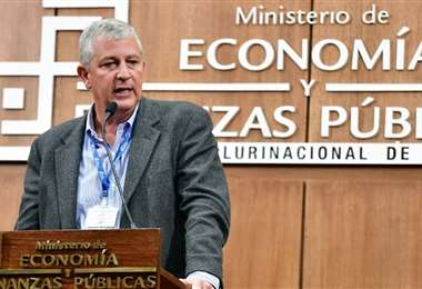 Branko Marinkovic, ministro de Economía/Foto: APG