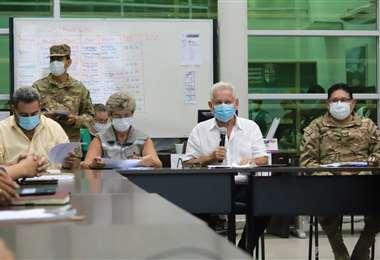 El informe del Comité de Crisis (Foto: Gobernación)