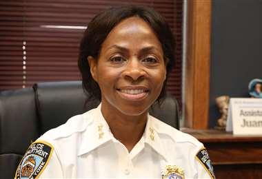 Juanita Holmes es jefa de patrulla. Foto Internet