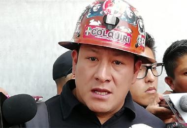 Orlando Gutiérrez, dirigente minero fallecido. Foto. Internet