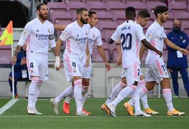 Real Madrid busca la punta en LaLiga. Foto AFP