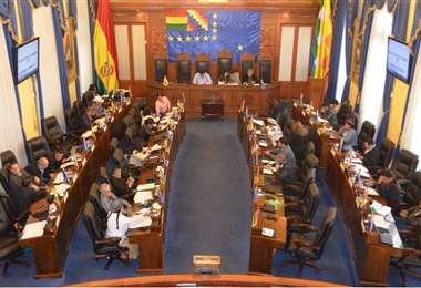Hay rechazo respecto al actuar de las anteriores autoridades del Senado