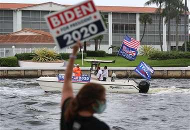 Pese a todo, la campaña continúa. Foto AFP