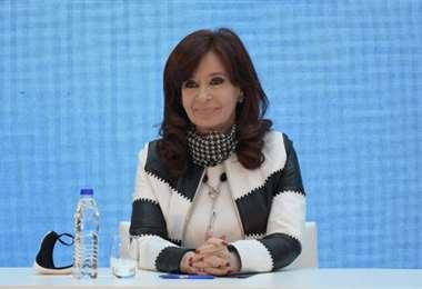 La actual vicepresidenta argentina. Foto Internet