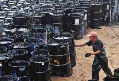 El petróleo a la baja. Foto Internet
