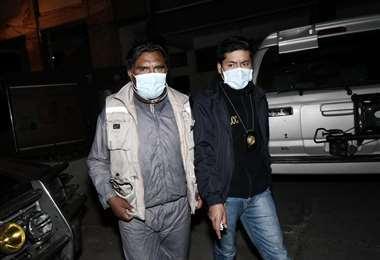 El dirigente había sido aprehendido por la Policía y llevado a cautelares.