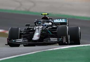 Mercedes puede conseguir su séptimo título este domingo. Foto AFP
