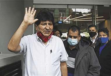 Morales prepara su llegada al país, proveniente de Argentina.