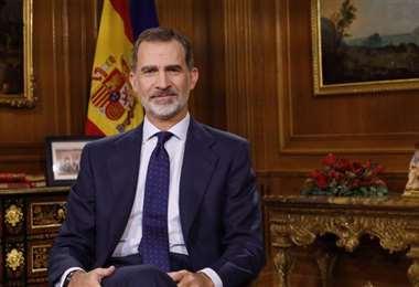 El Rey Felipe de España estuvo en los actos de posesión en 2006 y 2010