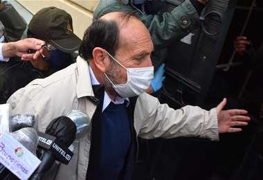 El exministro Marcelo Navajas.