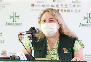 Asín lamento que sigan las quemas y chaqueos (Foto: Gobernación de Santa Cruz)