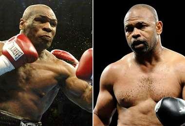 Mike Tyson y Roy Jones Jr. se enfrentarán el 28/11. Foto: Internet