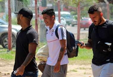 Los jugadores de Real Santa Cruz está preocupados por la situación. Foto: Real Santa Cruz