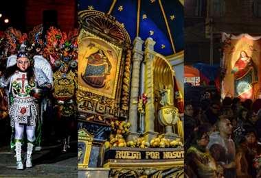 Cada año, miles de devotos danzantes convergen en la ciudad de Oruro, hoy será diferente