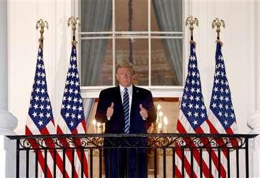 De nuevo en la Casa Blanca. Foto AFP