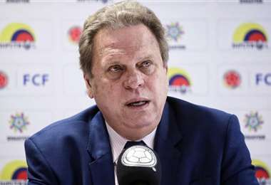 Ramón Jesurun, presiente de la Federación Boliviana de Fútbol. Foto: Internet