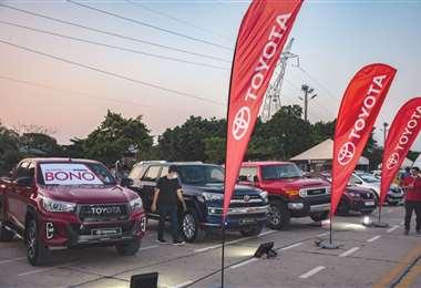 Sexta versión de la AutoFeria realizada en el Cambódromo. Foto: RRSS
