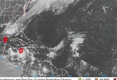 La tormenta recién formada. Foto Internet