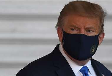 Médicos definirán hoy sobre el padecimiento de Trump. Foto AFP