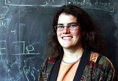 La astrónoma estadounidense Andrea Ghez. Foto Internet