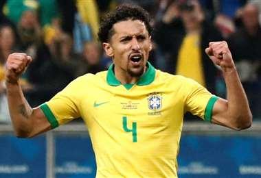 Marqunhos, defensor de la selección brasileña. Foto: internet