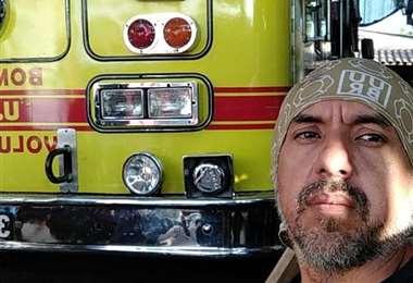 Álvaro Castillo comanda a los Bomberos Voluntarios Foto: UUBR