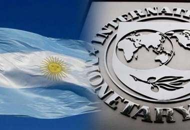 Una misión del FMI se encuentra en Argentina. Foto Internet