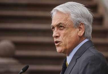 Piñera condenó la violación de los DDHH. Foto Internet