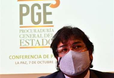 El procurador General del Estado I APG Noticias.