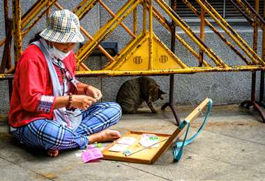 115 millones de personas pueden llegar a la pobreza extrema. Foto: AFP